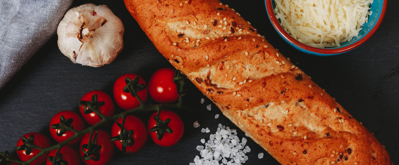 mixed seed baguette